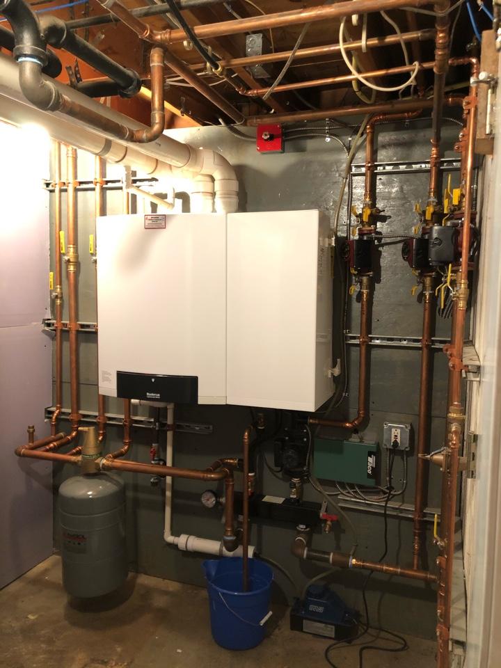West Hartford, CT - Boiler PTU. Performed PTU on Buderus GB142