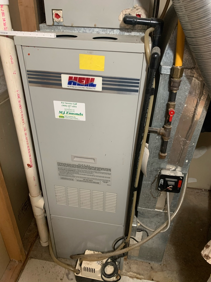 Plainville, CT - Replace gas furnace