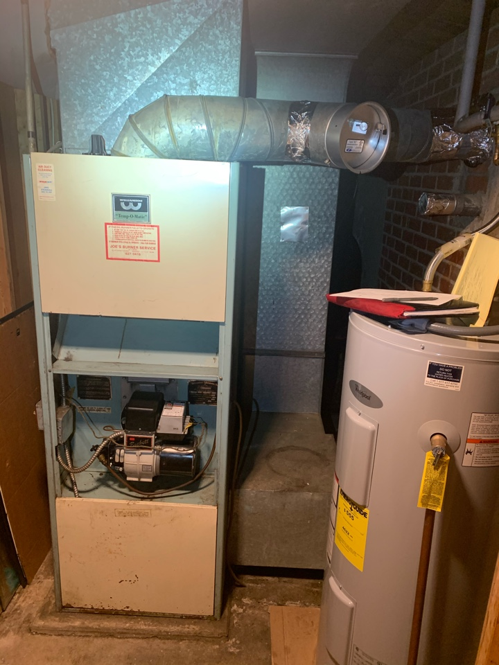 Hartford, CT - Replace oil furnace