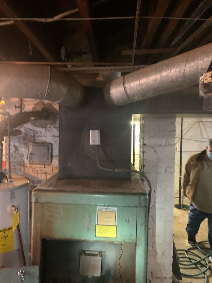 West Hartford, CT - Oil to gas conversion replace 1 furnace & 1 boiler