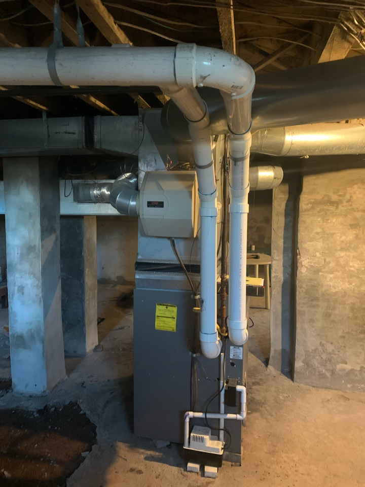 New Britain, CT - Remove and reinstall furnace