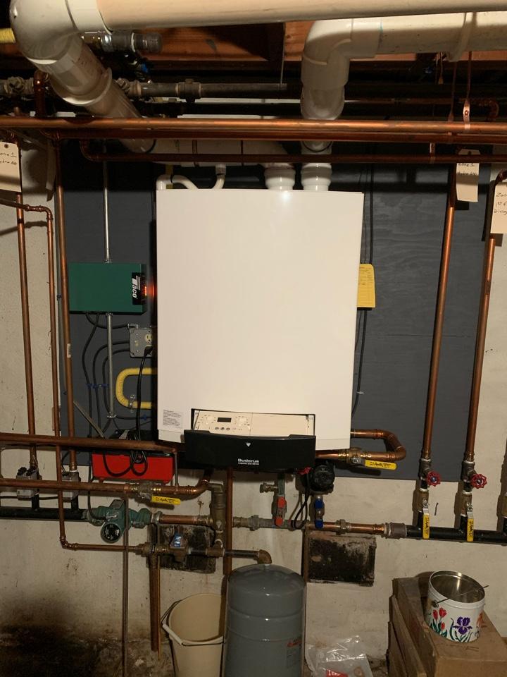 West Hartford, CT - Troubleshoot high efficiency Buderus boiler
