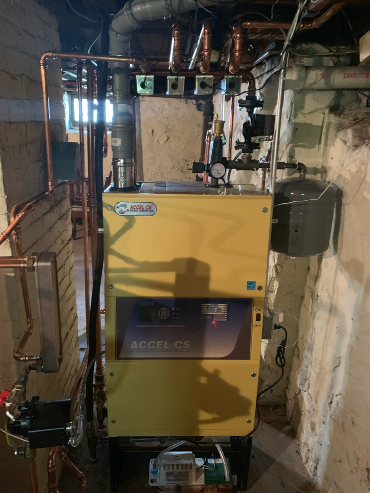 West Hartford, CT - Oil to gas boiler conversion