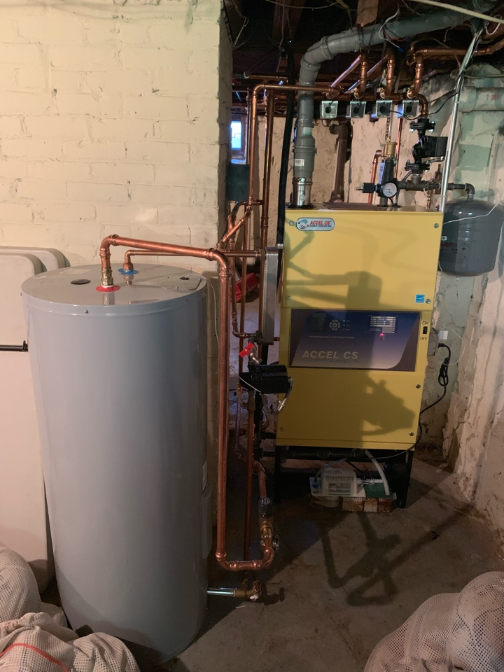Farmington, CT - Replace gas boiler and water heater
