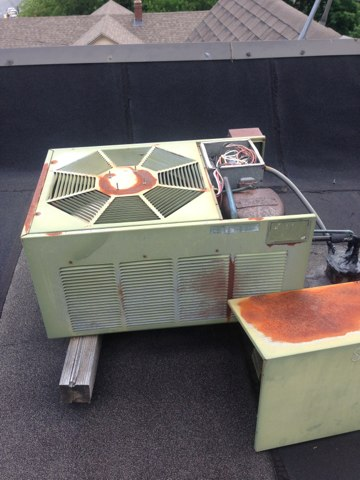 how to put r22 in ac unit