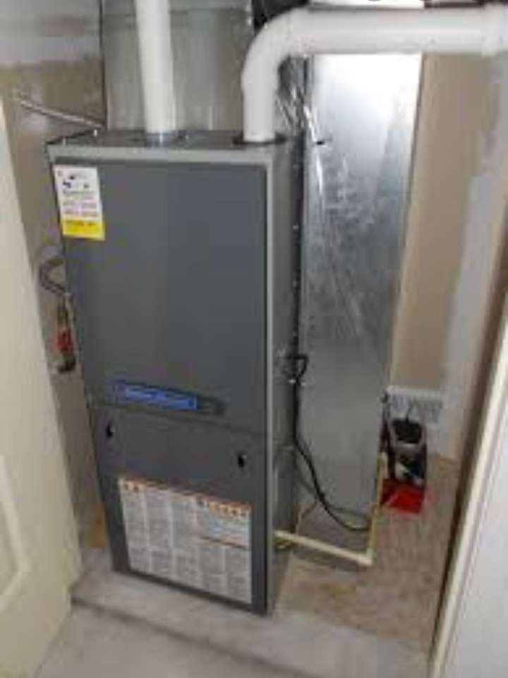 Newington, CT - Oil to gas conversion furnace and AC