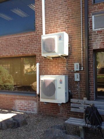 Plainville, CT - No cooling from Mitsubishi ductless unit. Found one of two evaporators not cooling. Found problem with solenoid valve. Repaired an tested.