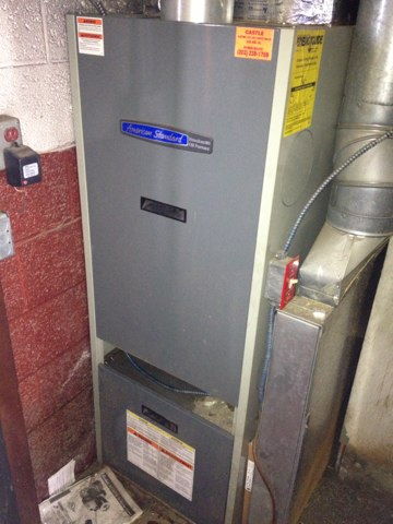 Meriden, CT - I'm performing a tune up on an American standard oil furnace ahv1m087a936saa