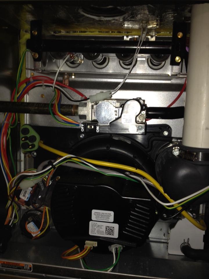 Avon, CT - Carrier Infinity natural gas furnace maintenance