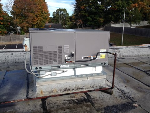 Manchester, CT - I'm performing a tune up on two carrier roof top systems