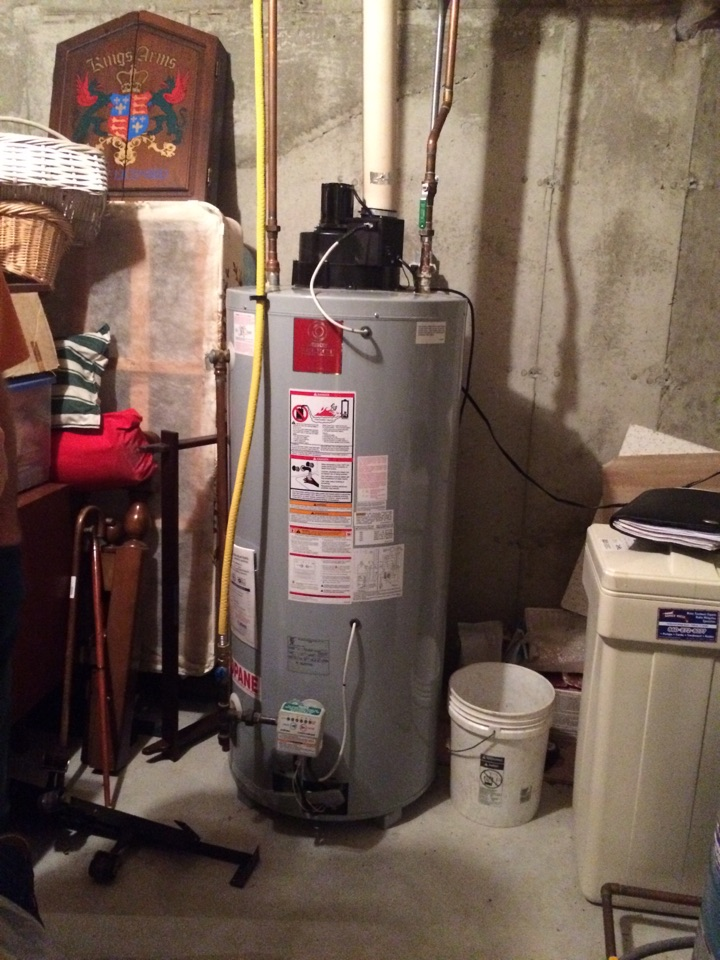 Glastonbury, CT - Quote for a replacement for a 75 gallon propane water heater.