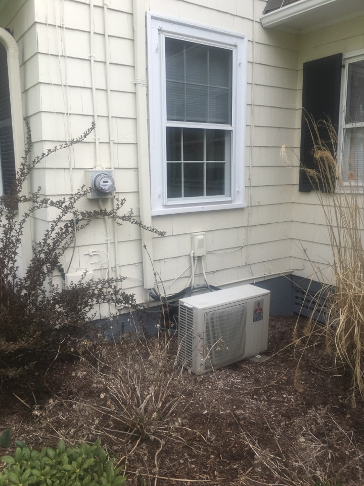 Hartford, CT - Price replacing a Mitsubishi Ductless heat pump