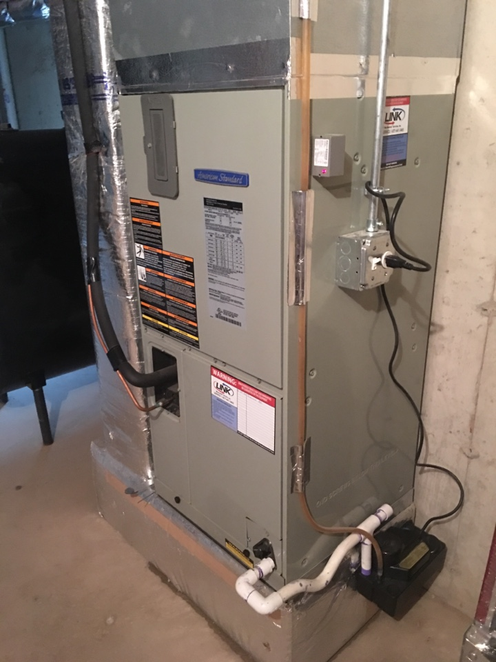 Middletown, CT - Spring a/c check up on 2- American Standard  systems