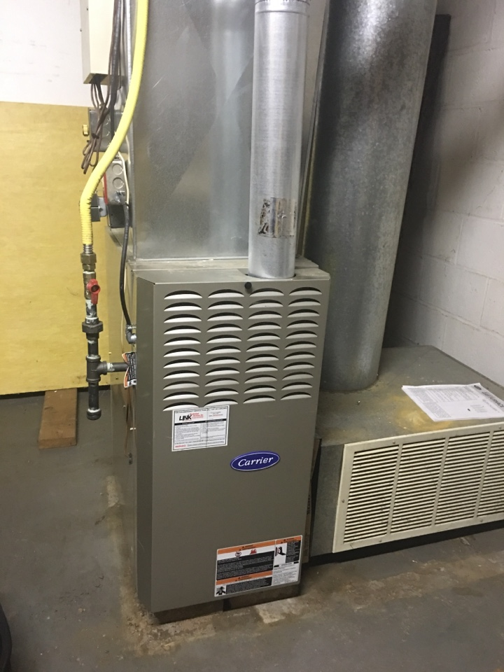 New Britain, CT - Performance tune up on Carrier gas furnace and bradford white water heater
