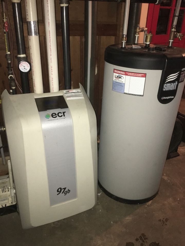 Middletown, CT - Tune up on ECR condensing gas boiler.