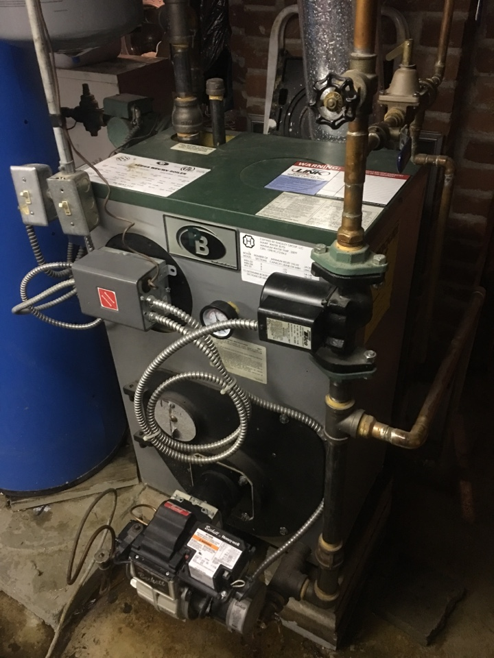 Bristol, CT - Performance tune up on oil boiler