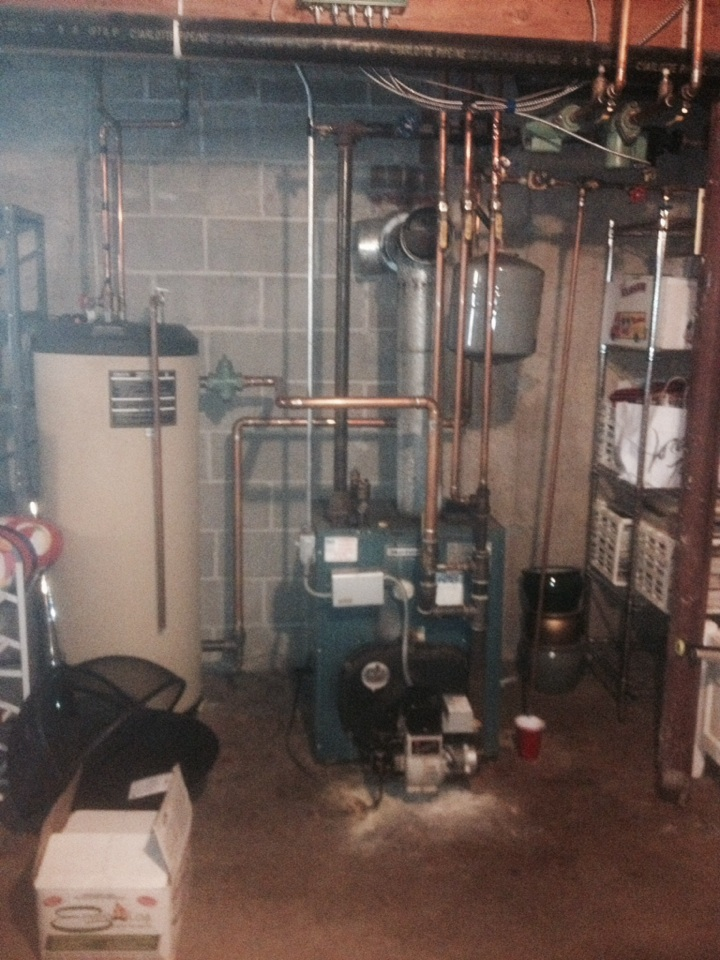 Canton, CT - Convert from oil to gas boiler quote   Multi zones
