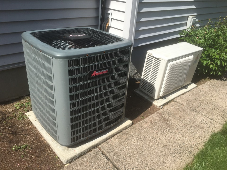 West Hartford, CT - Ac tune up on Amana and Mitsubishi systems.