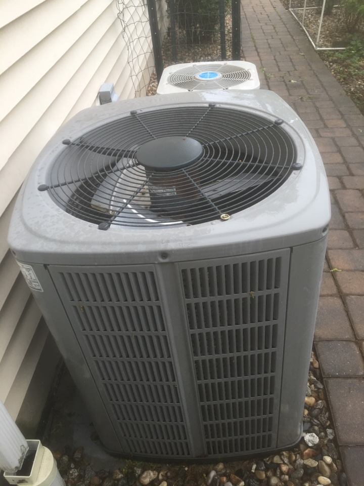 Newington, CT - American Standard central AC repair.