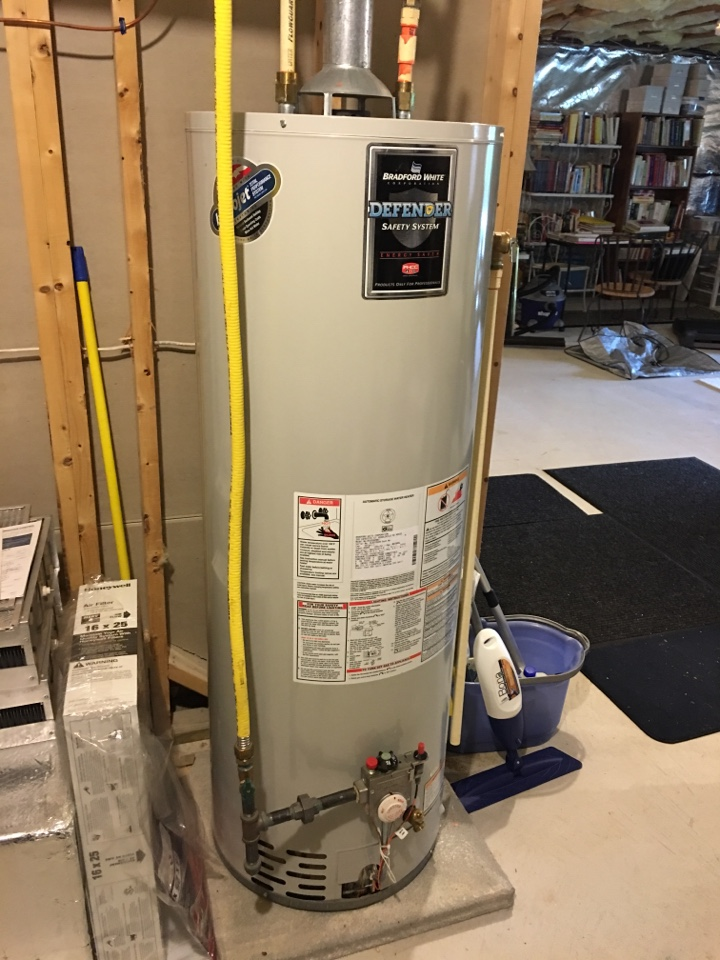 Canton, CT - Tune up on gas furnace, water heater, humidifier.