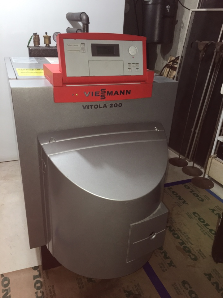 Southington, CT - Performance tune up on Viessman oil boiler.