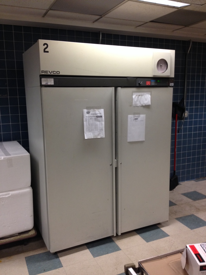 Hartford, CT - Revco  thermo fisher scientific freezer had bad defrost clock. Replace and tested.