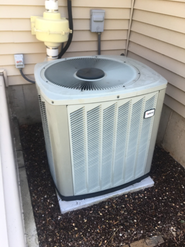 Rocky Hill, CT - Performance tune up on Ameristar/ Ruud AC split system
