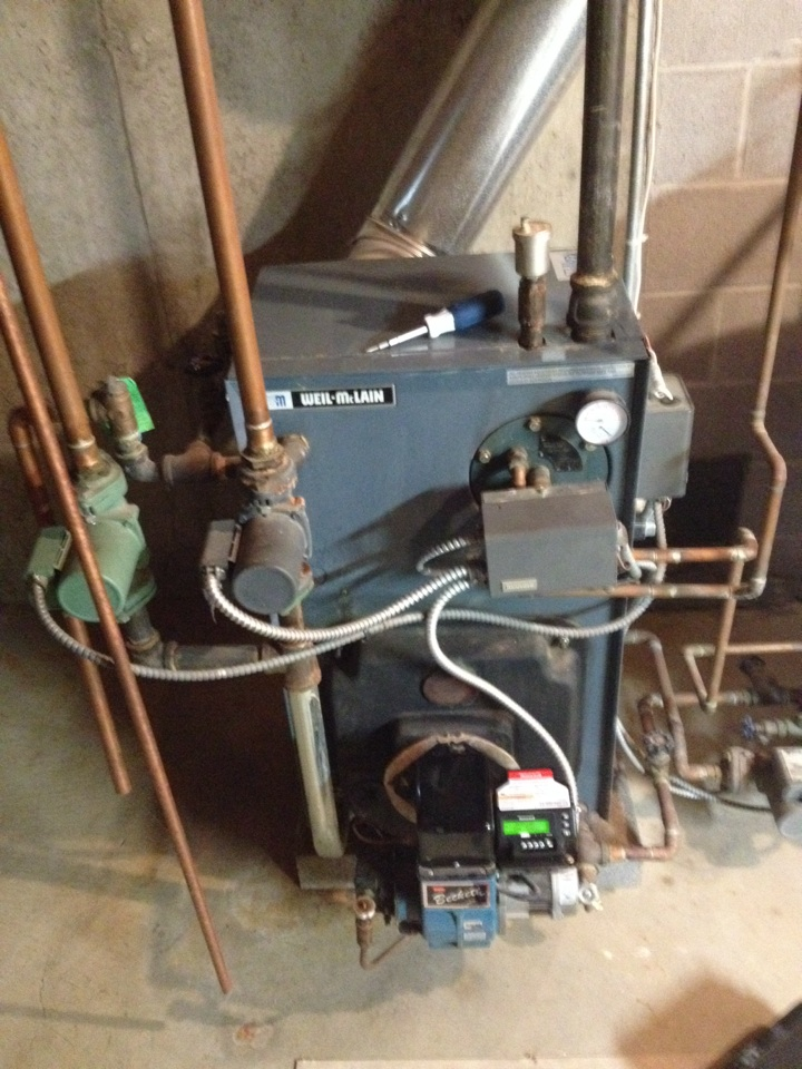 Cromwell, CT - Oil Boiler not running due to a bad primary control