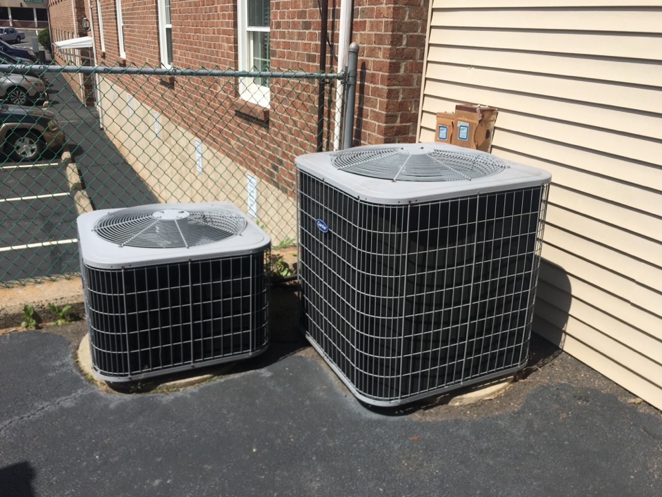 Wethersfield, CT - Performance tune up on 2 Carrier AC systems