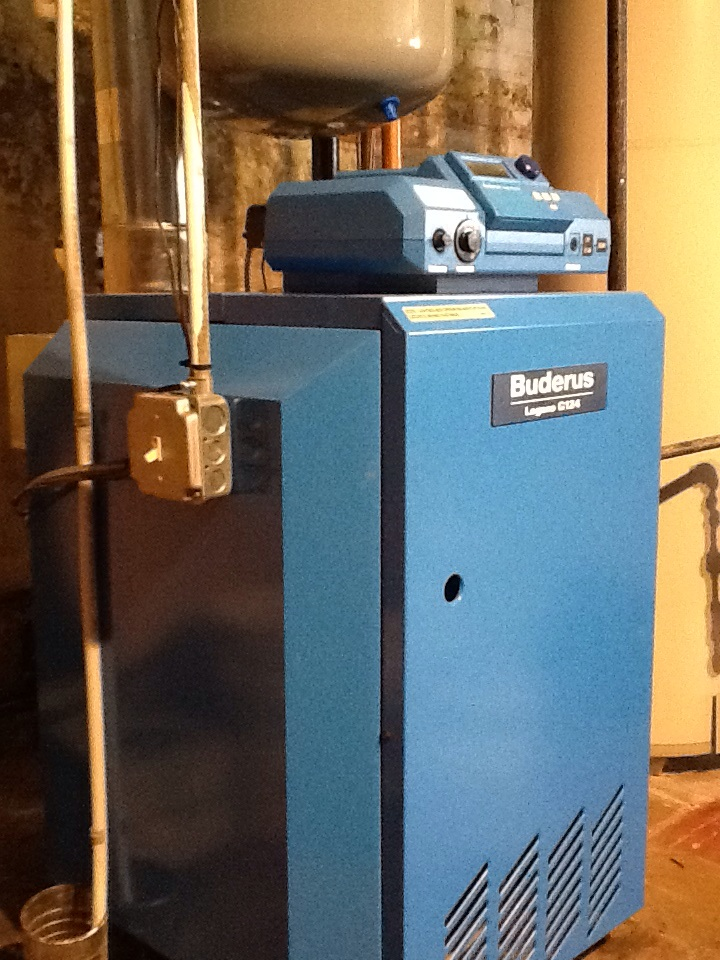 Hartford, CT - Replacing a combination auto feed back flow on a gas Buderus boiler