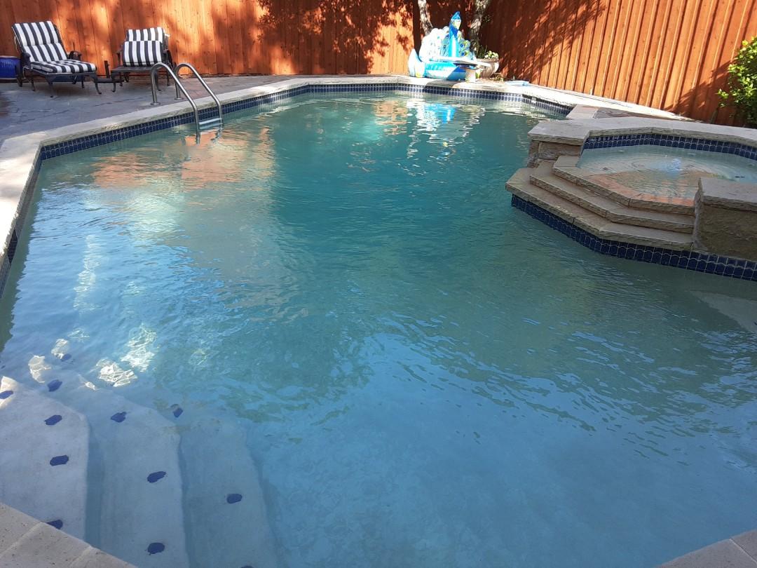 Carrollton, TX - Chemically balancing 30,000 gallon pool