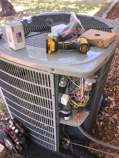Dripping Springs, TX - Conducted cooling check 2020. Found that the voltage enhancement and distribution systems both had faults. Client chose Platinum repair to solve the issues. I made the repairs and checked the system in cool. The system is cooling properly at this time.