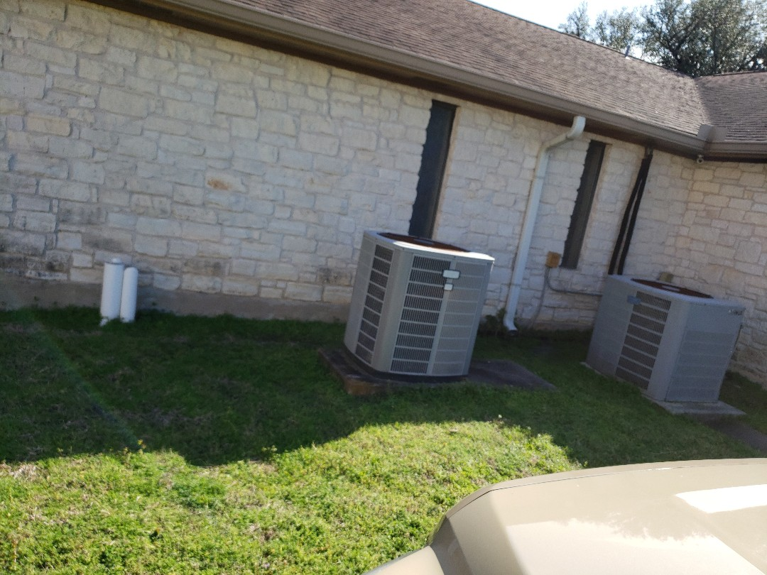 Buda, TX - Replacing a heat pump to improve air quality energy efficiency and comfort