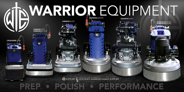 Zebulon, NC - Did you know we offer rentals on our Warrior Equipment concrete grinders and Warrior Generators? Give us a call for concrete grinder rentals at (877)-743-9732.