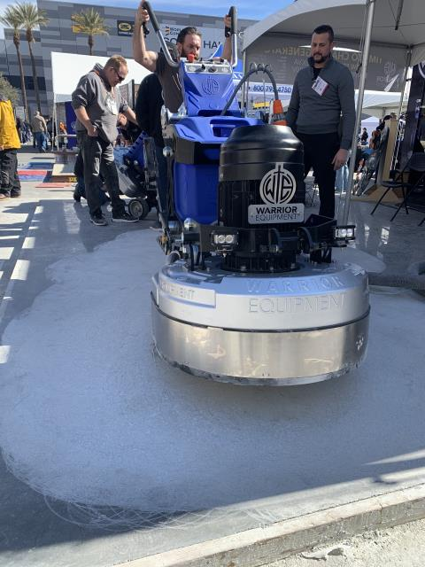 Winter Park, FL - Warrior Equipment produces reliable concrete grinders for sale built from the ground up for concrete contractors that refuse to cut corners or make compromises. Each of our concrete grinders was engineered with years of extensive input and from our customers in the trenches.