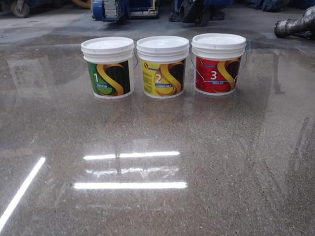 Las Vegas, NV - Finally A Concrete Polishing System With No Gimmicks and No Guesswork.