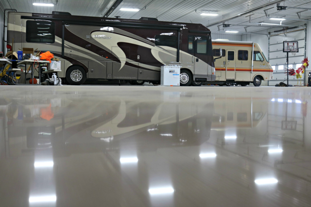 Fort Pierce, FL - Remove all the guesswork of polishing your concrete and choose a scientifically proven process that is effective and easy to understand. No matter how hard your concrete is, you can get a high quality; high gloss polished concrete floor every time from Scientific Concrete Polishing . Visit us at https://scientificpolishing.com/  or give us a call for more information at 910-565-6169
