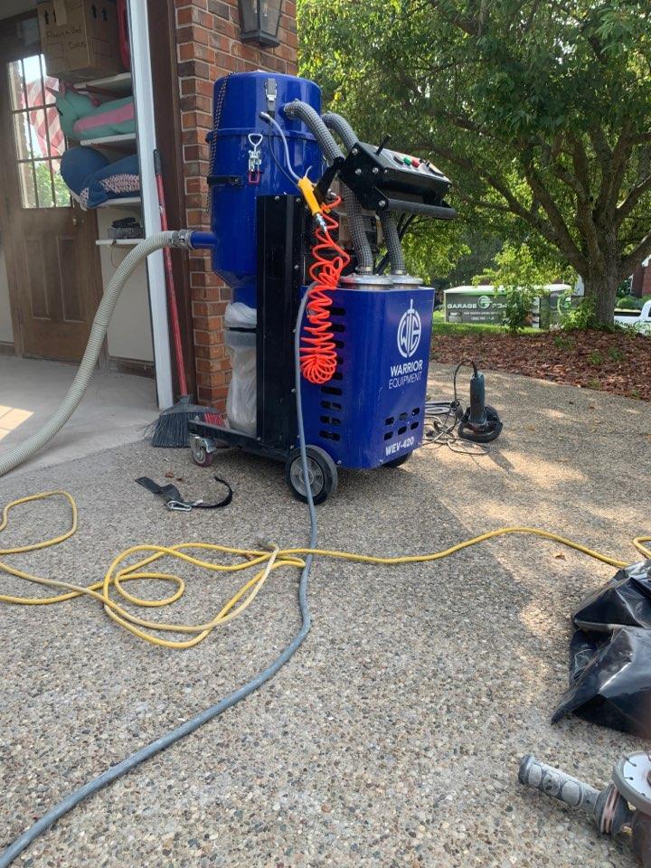 Warrior Equipment vacuum Demo