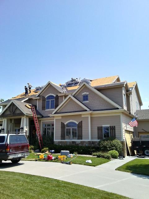 Gretna, NE - Complete roof replacement in Gretna, NE.