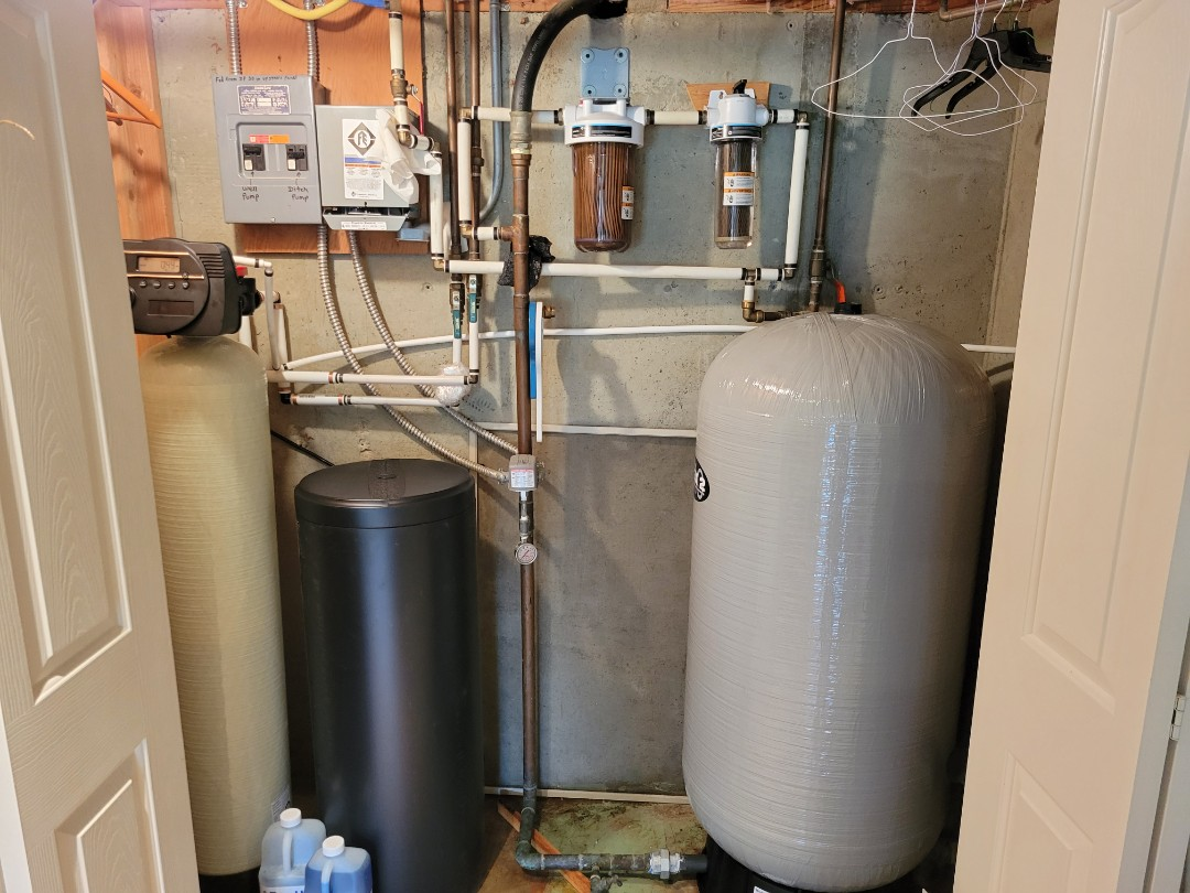 Meridian, ID - Completed water softener installation