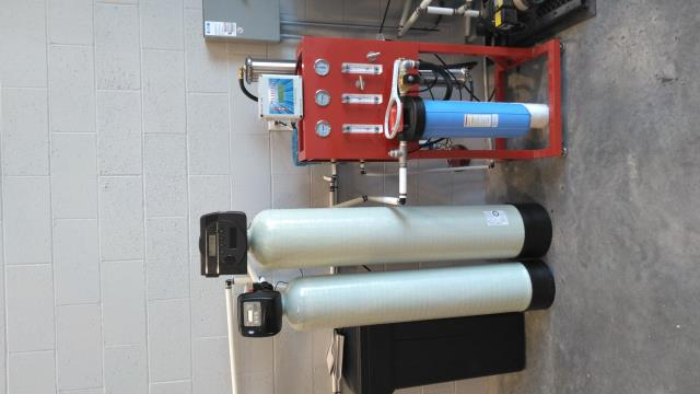 Weiser, ID - Commercial Reverse Osmosis for the wash bay in the detail shop for spot free car wash.