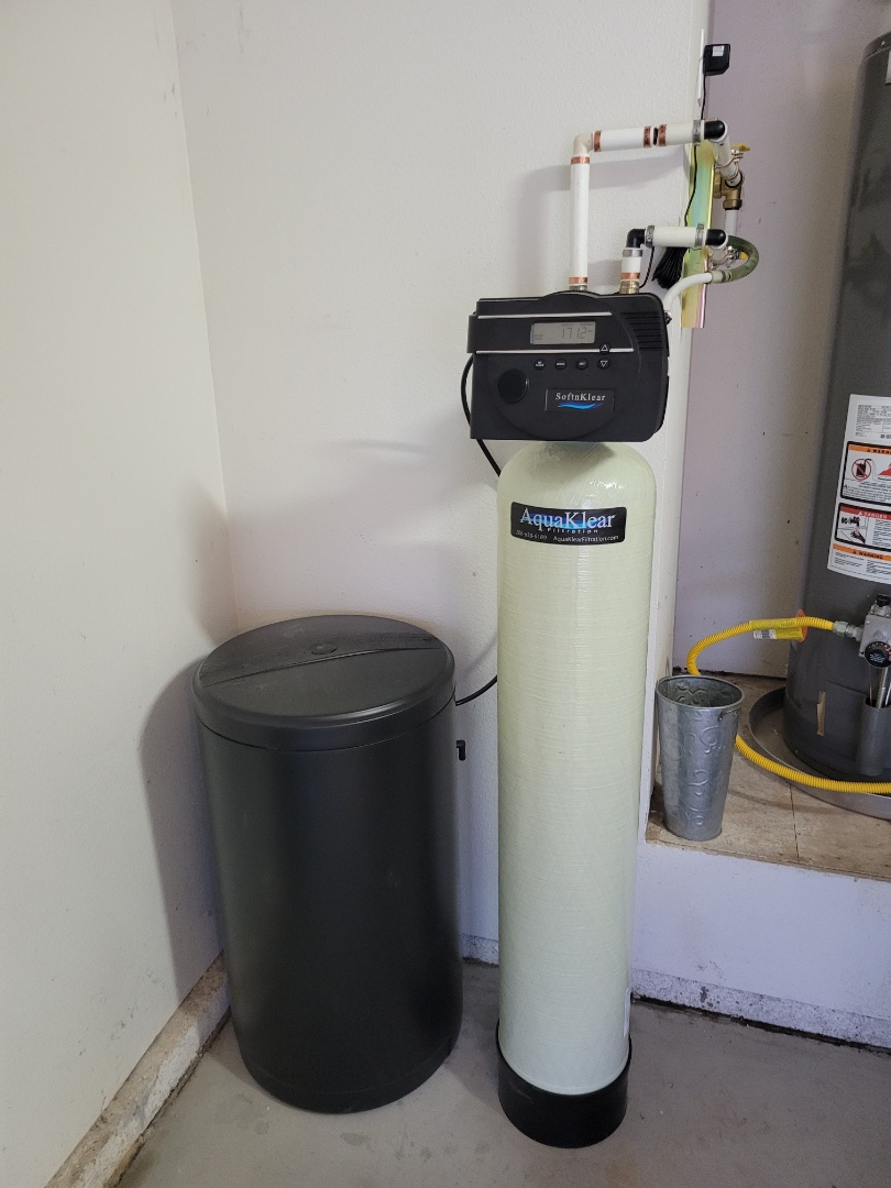 Nampa, ID - Installed a new wTer softener and an undersink  filter with alkaline water cartridge