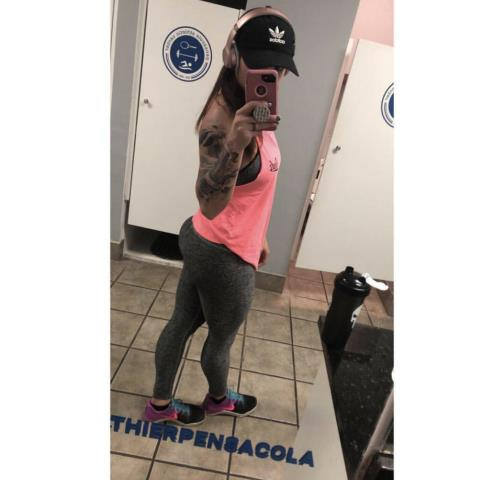 Melina has been a member at our gym with her husband for several months and she loves that our gym offers bumper plates and many options for her strength training.  She has seen some incredible progress in her fitness journey over the last few months and we are SO PROUD of her work ethic and consistency in the gym!