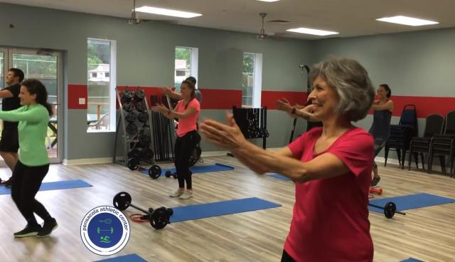 Guest stopped in to our gym several weeks ago and wanted to get back on track with her fitness goals.  She was looking for bootcamp classes and something to really push her towards her fitness goals. Since then, she has been a regular at our gym taking all of our cardio classes and getting a great workout in the evenings!