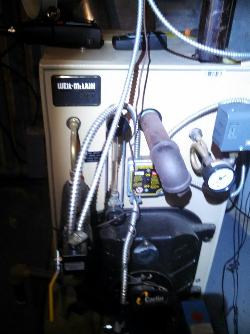 Windsor, NJ - PMS weil McLain boiler