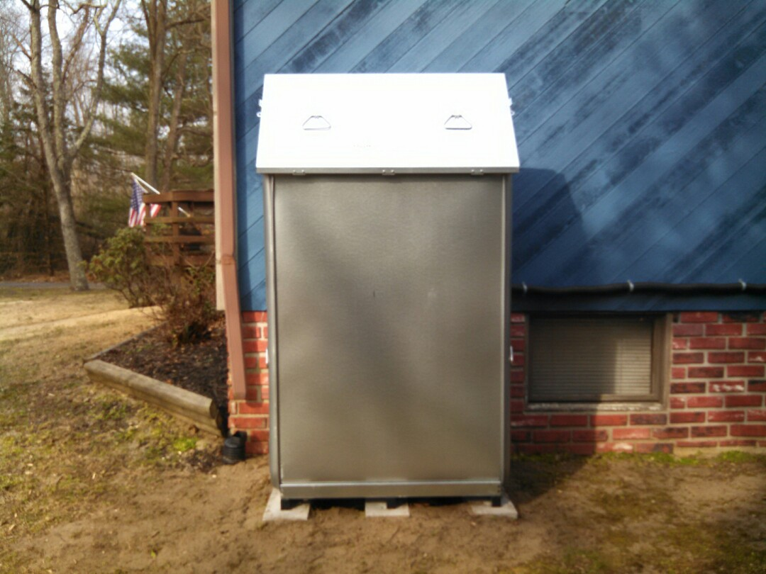 Mount Holly, NJ - Installed Roth 275 oil tank