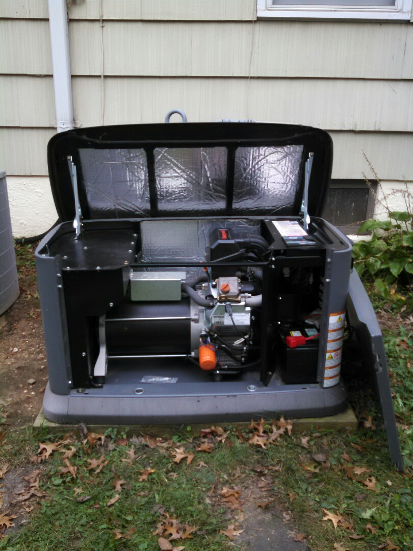 Trenton, NJ -   Yearly preventive maintenance tune-up on Generac 20kw generator Natural Gas