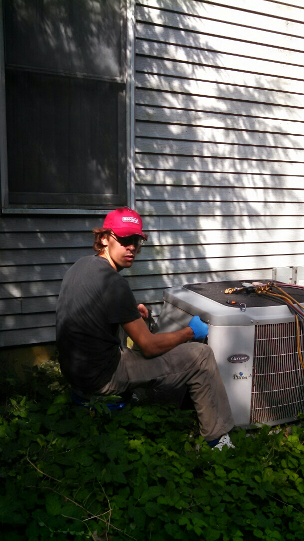 Mansfield, NJ - Ac tune up on two units