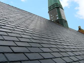 Morganton, NC - Rubber Slate Tile Roof