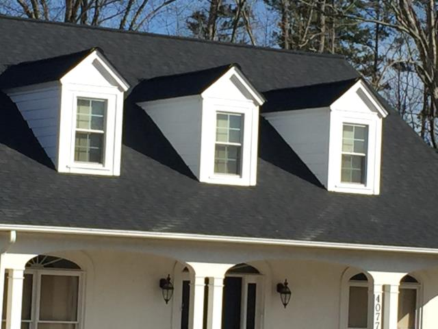 Boone, NC - Atlas Construction residential roof replacement in Blowing Rock NC. We also work in Hickory NC.